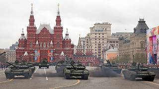 Russia conmemora la derrota de la Alemania nazi hace 72 años, con un imponente desfile en Moscú.