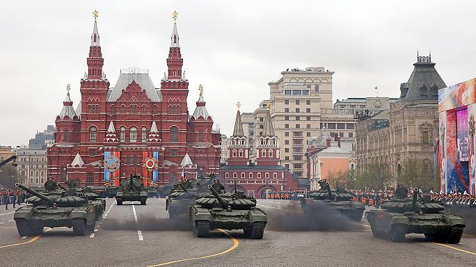 Moscow military parade celebrates victory over Nazi Germany