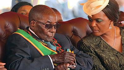 Mugabe leaves for medical checks in Singapore