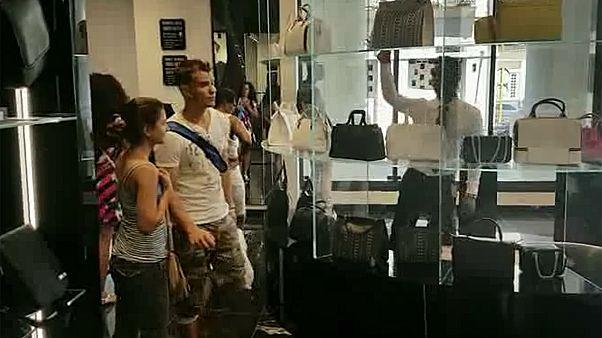 Communist Cuba opens luxury shopping mall in Havana