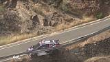 Rallye-Fahrer fast in Tiefe gestürzt
