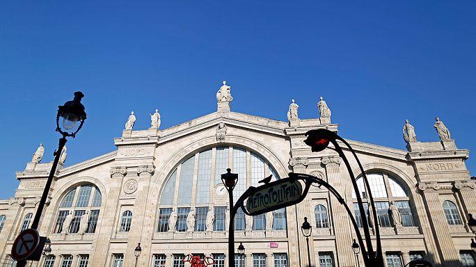 Újra megnyitották a párizsi Gare du Nord-t