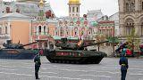 У Москві провели парад без авіації