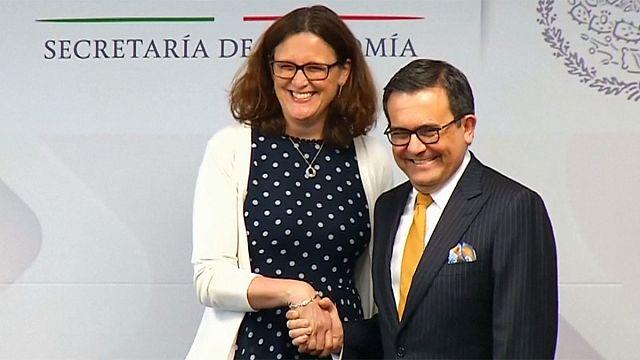 AB ile Meksika yeni ticaret anlaşması için müzakereleri hızlandırıyor