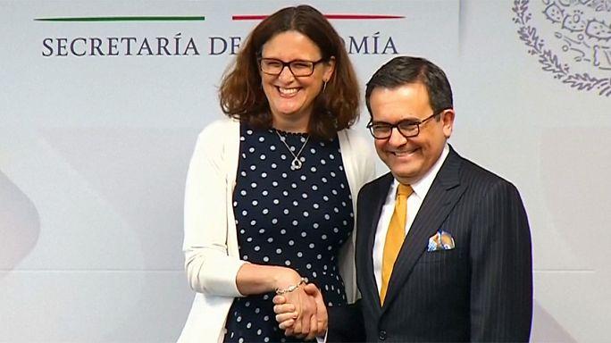 Európa az év végéig megállapodna Mexikóval a szabadkereskedelemről