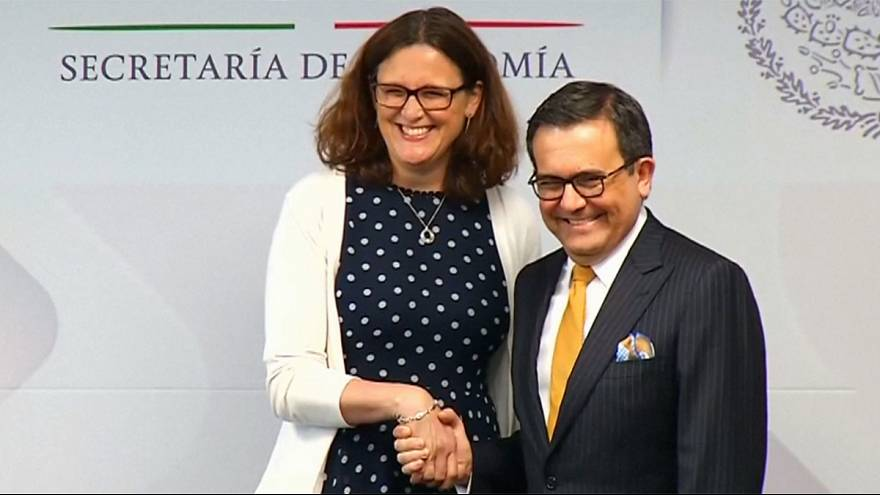 Mexico and EU closing in on trade deal