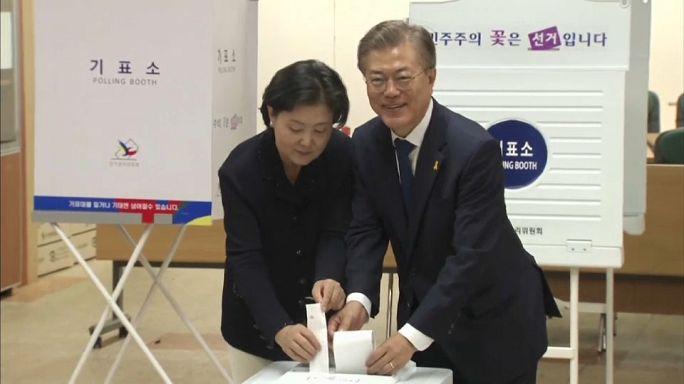 سيول: فوز ساحق لمون جاي-إن في الانتخابات الرئاسية المبكرة