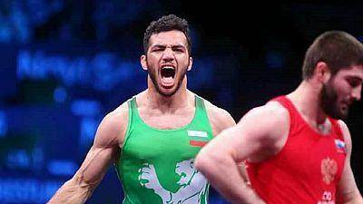 Egyptian shawarma seller wins gold for Bulgaria in Euro wrestling