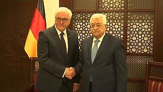 الرئيس الألماني في رام الله لبحث عملية السلام بالشرق الأوسط