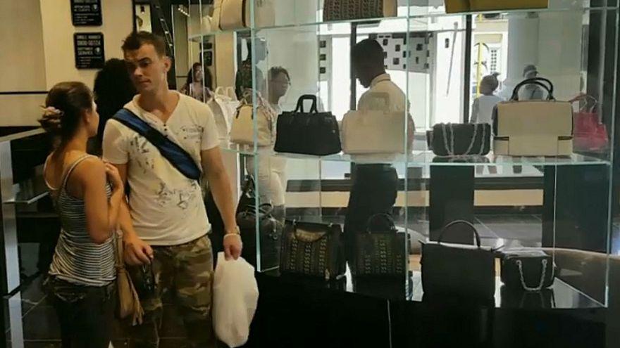 كوبا:مركز تجاري فاخر.. يسر الناظرين