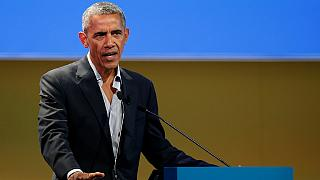 """Obama a Milano sfida Trump: """"Impegno contro il cambiamento climatico"""""""