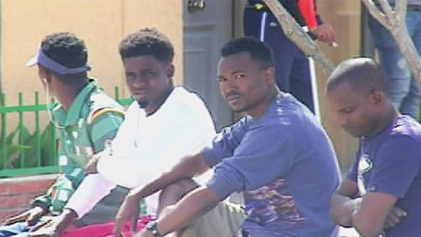 Migrants storm border fence in Spanish enclave Melilla,
