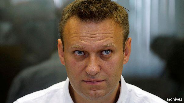 L'opposant russe Alexei Navalny à nouveau aspergé d'antiseptique
