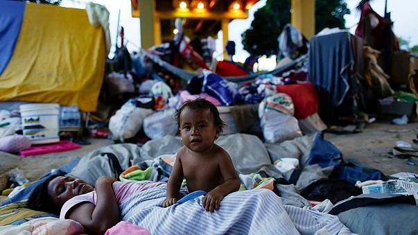 Menekülnek Venezuelából az éhező indiánok
