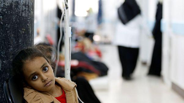 مرگ دستکم ۳۴ نفر در اثر شیوع وبا در یمن