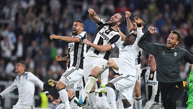 Juventus through to Champions League final