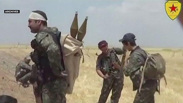 Washington felfegyverzi a Szíriában harcoló kurdokat