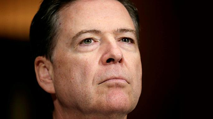 "Trump ""terminates"" FBI chief James Comey"