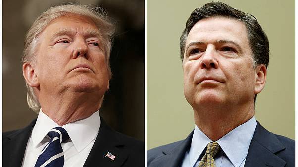 Trump triggers political storm over Comey sacking