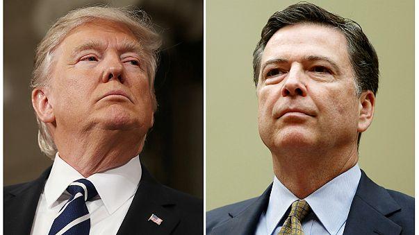 Trump triggers political storm over Comey sacking