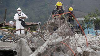 Tűzijátékraktár robbant Mexikóban, 14-en meghaltak