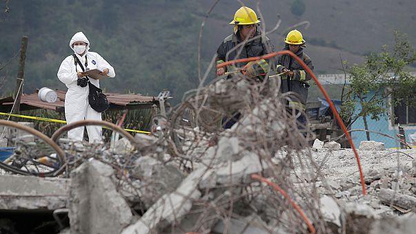 L'explosion de feux d'artifice fait au moins 14 morts au Mexique
