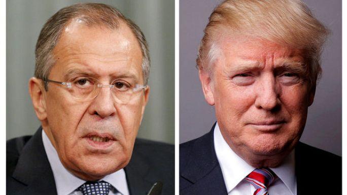 ترامب يجري محادثات مع لافروف في أول لقاء أمريكي روسي