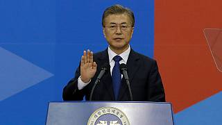 Moon Jae-in é Presidente da Coreia do Sul e quer ir até à do Norte