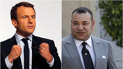Entretien téléphonique entre Macron et le roi Mohammed VI