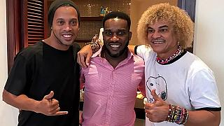 Brazil football great Ronaldinho reveals respect for Nigeria's Okocha