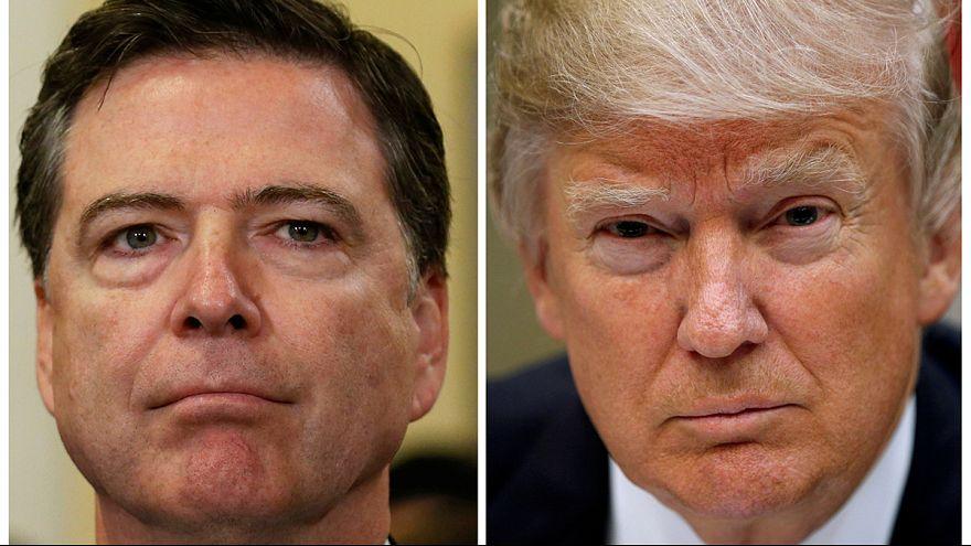 Torna a Washington James Comey. Il direttore dell'Fbi è stato rimosso dal suo incarico dal presidente Trump