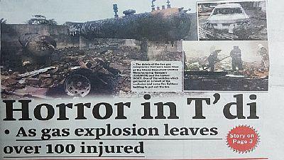 Ghana : au moins 100 blessés dans une explosion de gaz à Takoradi