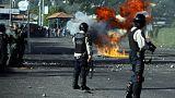 فنزويلا: اشتباكات عنيفة بين محتجين وقوات الأمن على خلفية محاكمة عسكرية لمدنيين
