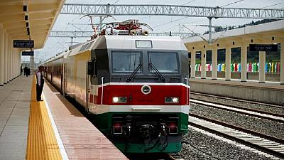 Ethiopia-Djibouti electric railway begins regular test run