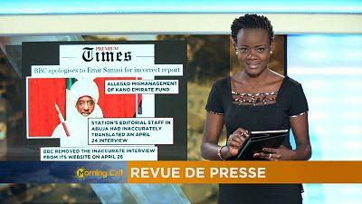 Revue de presse : édition du 10 mai 2017