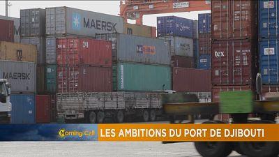 Gros plan sur le port de Djibouti