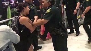 فوضى في مطار فلوريدا الدولي بسبب تأخر في رحلات شركة سبيريت ايرلاينز