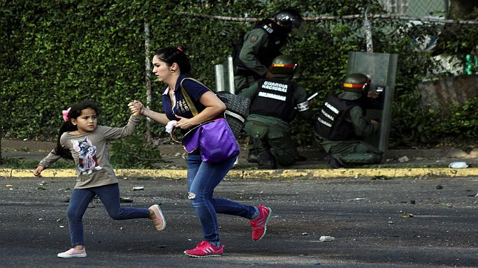What are Venezuelans fighting for with their lives?