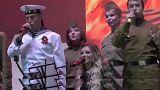 """Cantora russa da Eurovisão """"riposta"""" na Crimeia"""