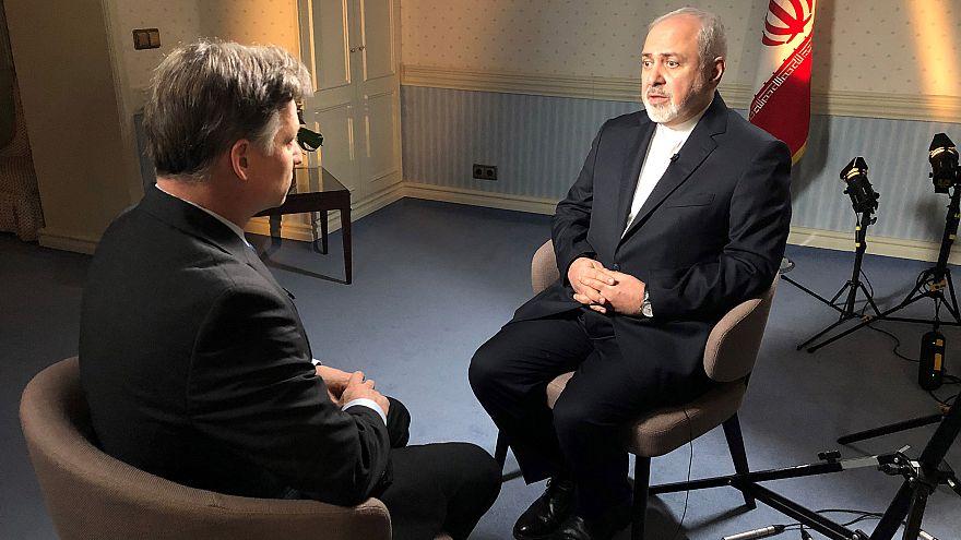 Image: Richard Engel interviews Iranian Foreign inister Mohammed Zarif