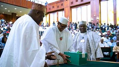 Buhari meets Osinbajo, Saraki, Dogara before London trip