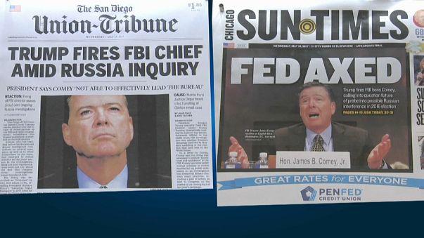 USA: Trump verteidigt Entlassung von FBI-Chef Comey