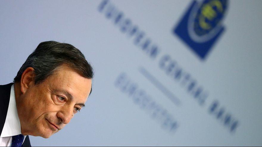 ECB's Draghi defends stimulus even as eurozone economy improves