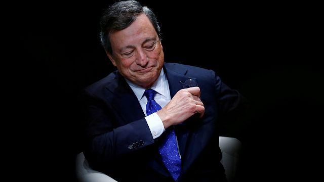 """Draghi : """"il est trop tôt pour crier victoire"""" devant l'inflation"""