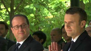 Hollande und Macron: Frankreich vor der Amtsübergabe