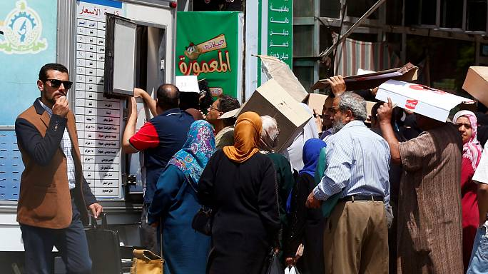 مصر: ارتفاع معدل التضخم إلى أعلى مستوى في ثلاثة عقود