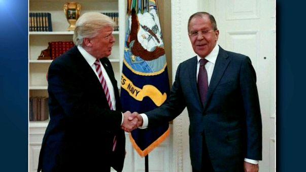 Sergueï Lavrov à la Maison-Blanche