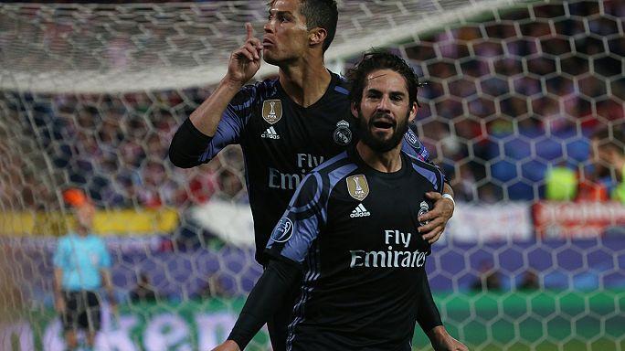 """""""Реал Мадрид"""" в финале Лиги чемпионов УЕФА"""