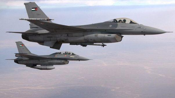 سلاح الجو الأردني يسقط طائرة استطلاع قرب حدود سوريا