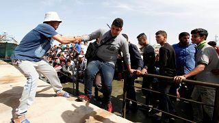 إنقاذ 500 مهاجر سري قبالة سواحل صبراتة